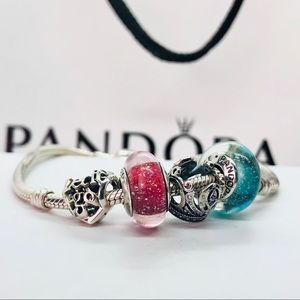 New PANDORA Disney Frozen-Themed Charms, Set of 4
